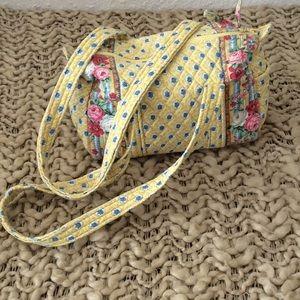 Vintage Vera Bradley Elizabeth Handbag Purse